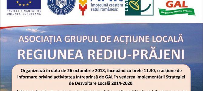 INFORMAREA TERITORIULUI – BREAZU – 26.10.2018